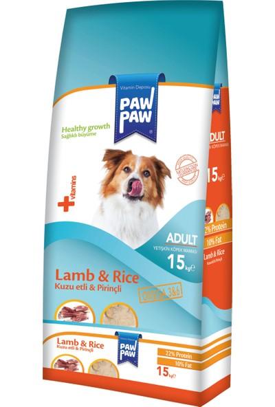 Pawpaw Erişkin Kuzu & Pirinç Köpek Maması 15Kg