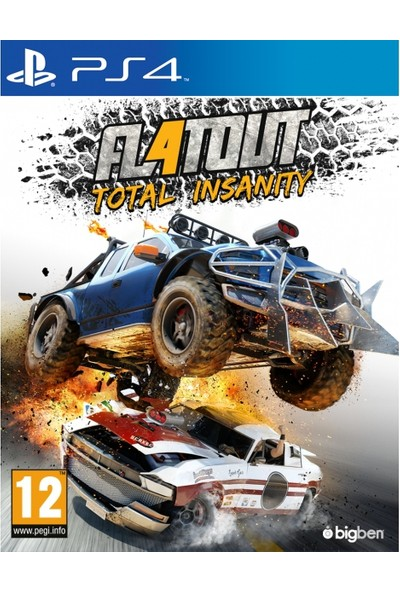Flatout 4 Total Insanity PS4 Oyun