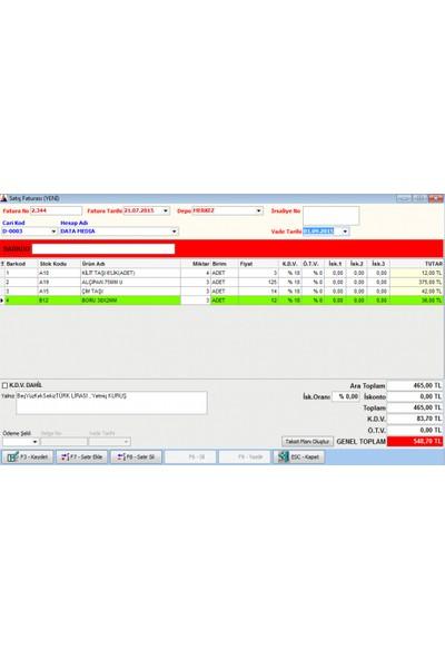 Datamedia Tüm Sektörler İçin Barkodlu Satış Ve Stok Programı Barkod Hediye