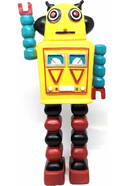 Decotown Nostaljik Uzaylı Robot Biblo