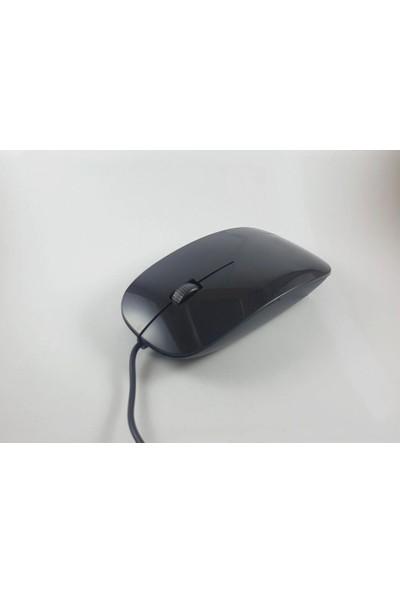 Platoon Pl-1084 Kablolu Şık Tasarım Siyah Renkli Mouse