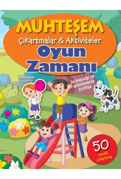 Muhteşem Çıkartmalar: Aktiviteler Oyun Zamanı - The Book Company