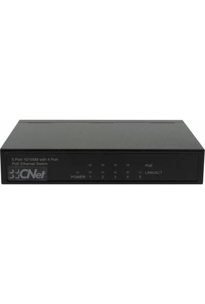 Cnet 5 Port 10-100 4 Port Poe+ Switch
