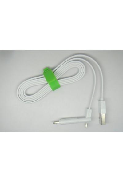 Inova Apple iPhone 5-6, Micro Usb Samsung-Lg-Htc Micro Usb Dual Şarj - Data Kablosu
