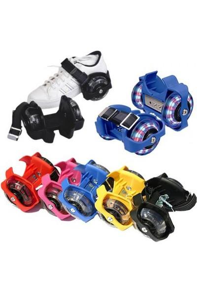 DS Işıklı Ayakkabı Pateni - Flash Roller (1 Çift)koyu renk erkek için
