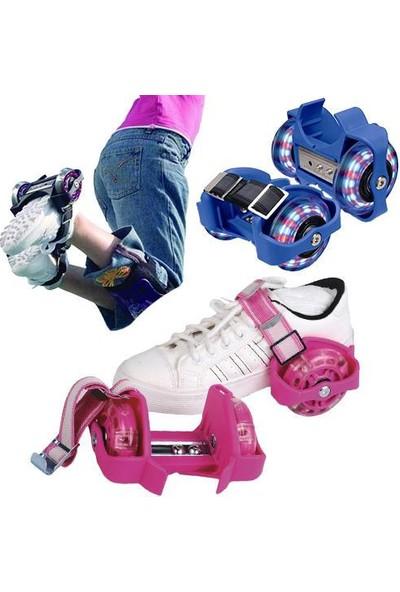 DS Işıklı Ayakkabı Pateni - Flash Roller (1 Çift)kız çoçugu için renklerde
