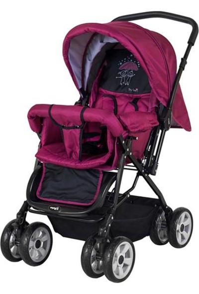 Crystal Baby 212 Mega Baston Bebek Arabası - Mor
