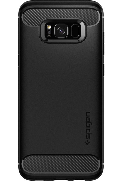 Spigen Samsung Galaxy S8 Plus Kılıf Rugged Armor Black - 571CS21661