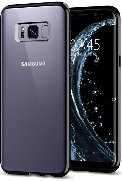Spigen Samsung Galaxy S8 Plus Kılıf Ultra Hybrid Jet Black - 571CS21682