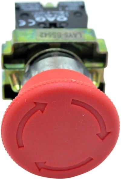 Gadahome Oag Mantar Acil Stop Butonu (Lay5-Bs542)