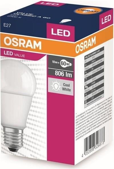 Gadahome Osram 8,5W Led Ampul (Beyaz Işık) E27