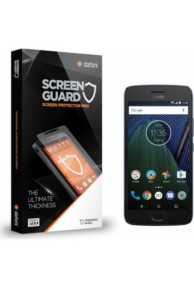 Dafoni Motorola Moto G5 Plus Tempered Glass Premium Cam Ekran Koruyucu