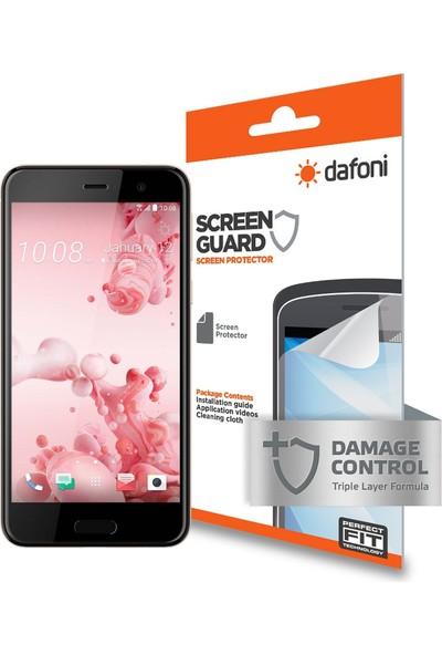 Dafoni HTC U Play Darbe Emici Full Ekran Koruyucu Film
