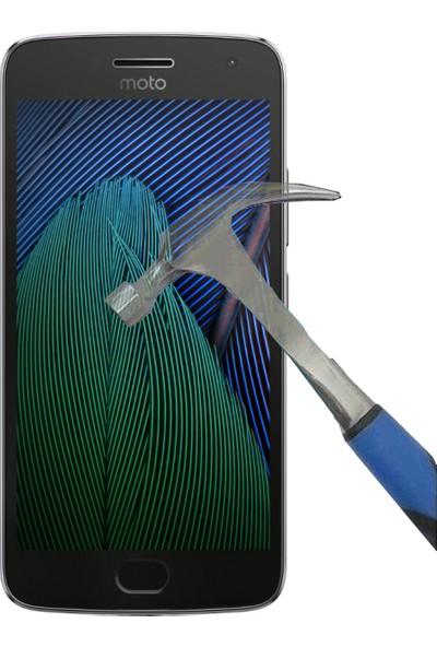 Teleplus Lenovo Moto G5 Plus Temperli Cam Ekran Koruyucu Cam Ekran Koruyucu