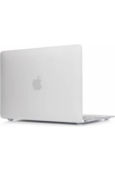Alaca Apple Macbook Pro Retina 15.4 Kılıf 2İn1 Silikon Mat