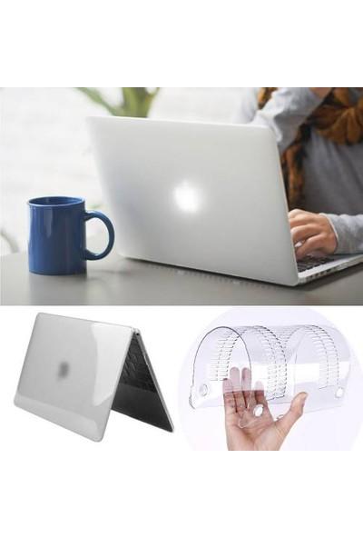 Alaca Apple Macbook Pro Retina 13.3 Kılıf 2İn1 Silikon Mat