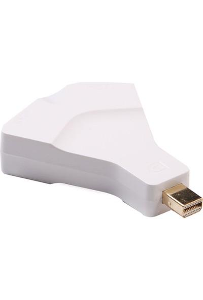 Alaca Apple Macbook Mini Display Port 1.2 Vga+Hdmı 2İ1