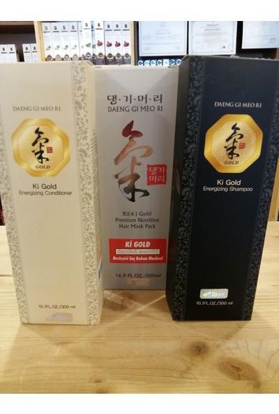 Ki Gold Şampuan + Saç Maskesi + Saç Kremi