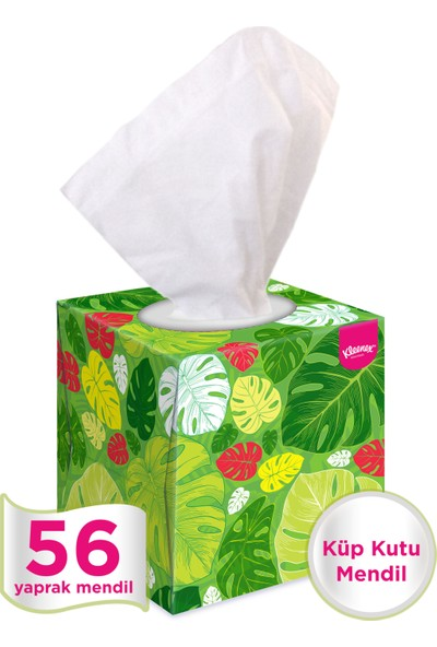 Kleenex Küp Kutu Mendil 56 Yaprak