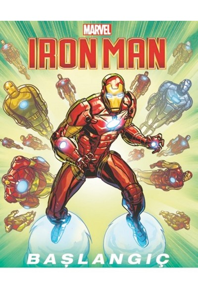 Marvel Iron Man: Başlangıç - Jim Mccann