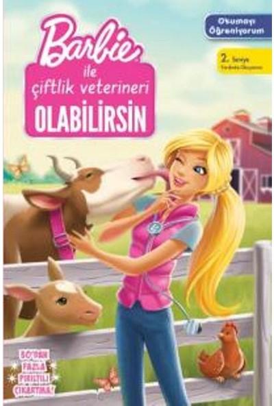 Barbie Okumayı Öğreniyorum Çiftlik Veterineri Olabilirsin