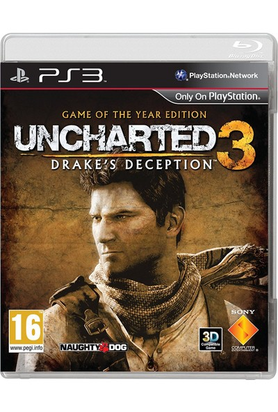 Uncharted 3 Drake's Deception Game Of The Year Edition Ps3