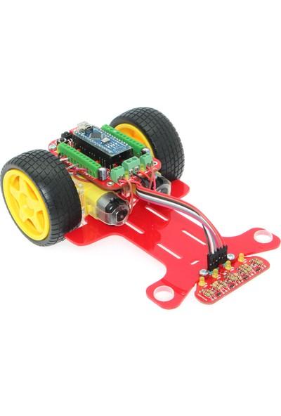 Robotzade Çizgi İzleyen Robot Kiti - Alfa