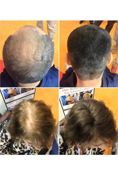 De Nature Saç Dolgunlaştırıcı - Seyreklik Kapatıcı - Saç Gürleştirici 22 gr Toz + 100 ml Sabitleyici Sprey - Koyu Kahverengi