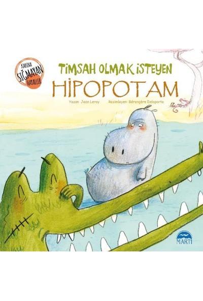 Timsah Olmak İsteyen Hipopotam