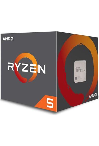 AMD Ryzen 5 1400 3.40GHz/3.20GHz 8MB Cache Soket AM4 İşlemci