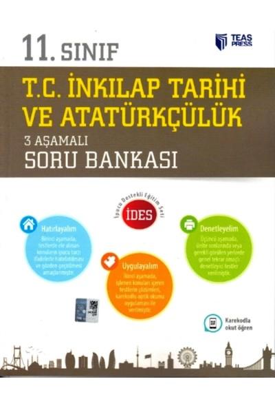11. Sınıf T.C. İnkılap Tarihi Ve Atatürkçülük 3 Aşamalı Soru Bankası
