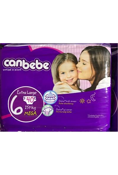 Canbebe Bebek Bezi 3'lü Set 6 Beden Exra Large 120 Adet