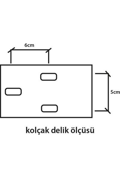 Türksit Ofis Koltuğu Yedek Parça Eko Kolçak Çift