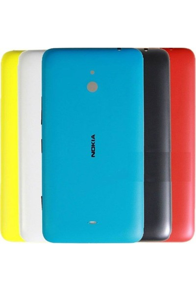 Casecrown Nokia Lumia 1320 Arka Pil Batarya Kapak Siyah