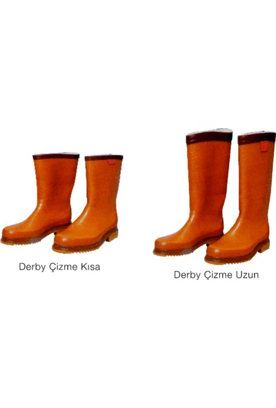 Derby Çizme Kısa 41
