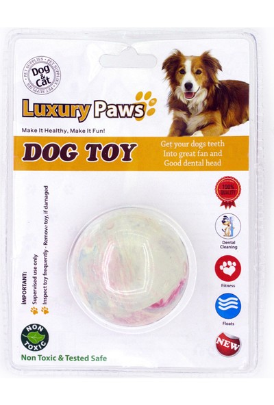 Luxury Paws Kauçuk Sert Kauçuk Top 2,5''