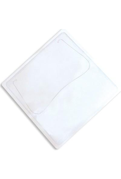 Aso Plastik Cd Zarfı, Arkası Yapışkanlı, Şeffaf, 100 Adet