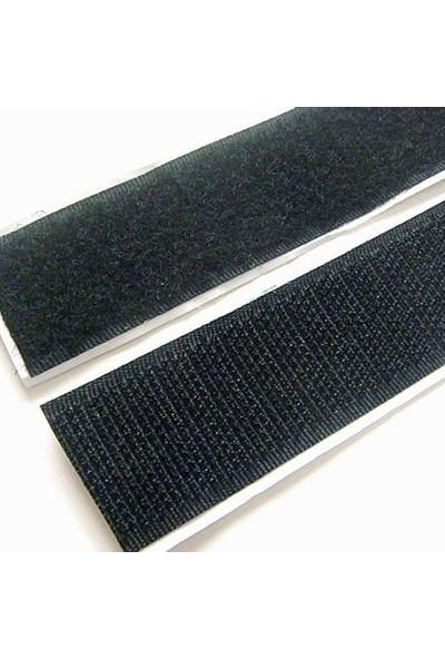 Aso Cırt Bant, Arkası Yapışkanlı Genişlik 2 Cm x Uzunluk 25 M Dişi Ve Erkek Takım Siyah
