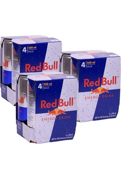 Red Bull Enerji İçeceği 250 Ml x 12 Adet