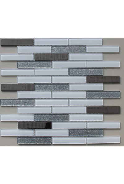 Mcm Mutfak Tezgah Arası Kristal Cam Mozaik