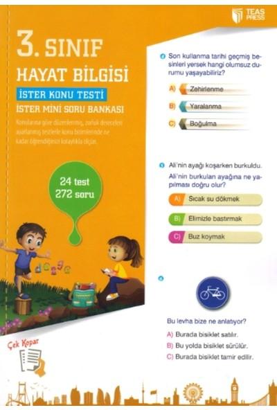 3. Sınıf Hayat Bilgisi Yaprak Test Çek Kopar