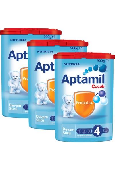 Aptamil 4 Çocuk Devam Sütü 900 gr - 3'lü