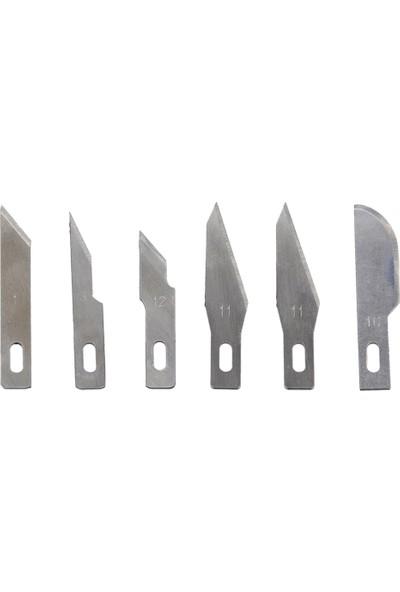 Titi 1170 Mini Hobi Maket Bıçağı Seti 7 Parça