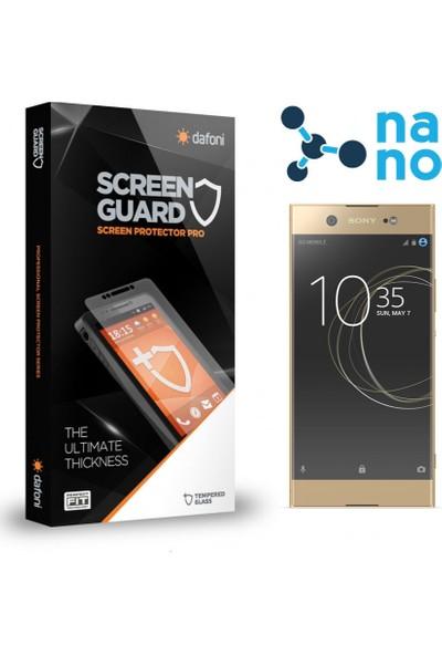 Dafoni Sony Xperia XA1 Ultra Nano Glass Premium Cam Ekran Koruyucu