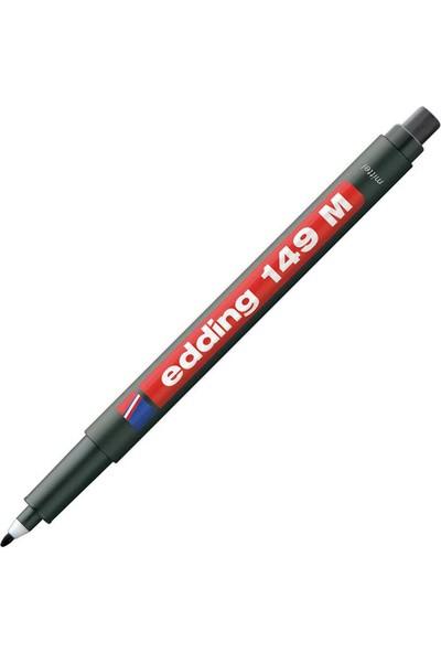 Edding Asetat Kalemi Silgili E-149M Siyah