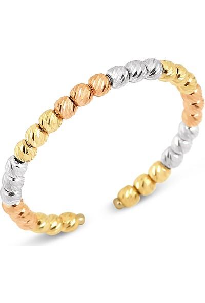 Goldstore 14 Ayar Altın Dorika Top Yüzük Grf40420 6