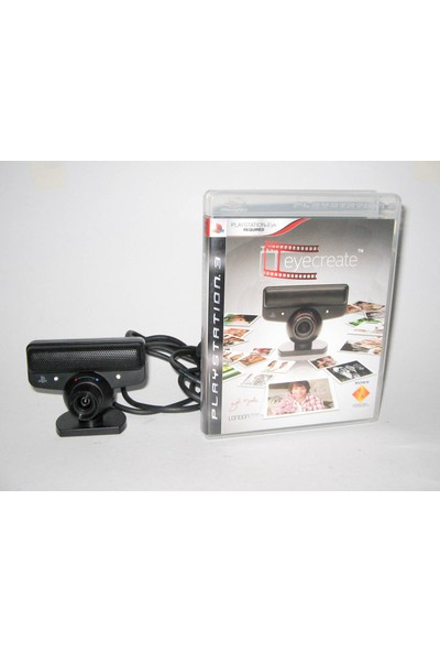 Eye Create ps3 Cd + Kamera
