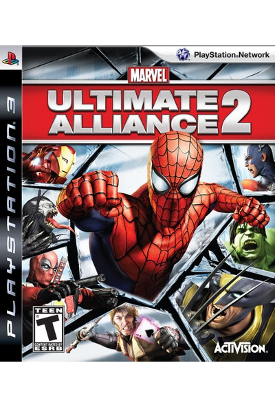 Ultimate Alliance 2 Ps3