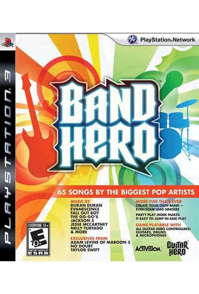 Band Hero Ps3