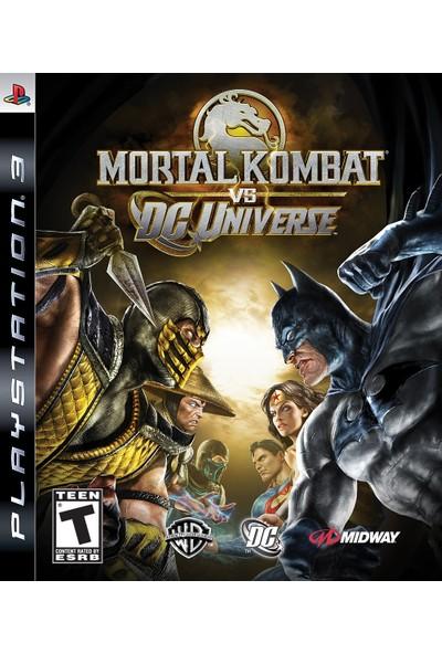 Mortal Kombat Dc Universe Ps3